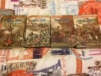 4 volumes of american civil war books