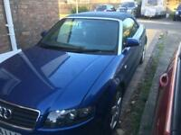 AudiA4 convertible 54 plate