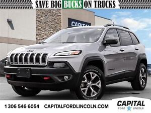 2016 Jeep Cherokee Trailhawk * Heated Seats & Heated Steering Wh