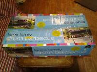 LARGE FAMILY DRUM BARBECUE-------------BRAND NEW IN BOX