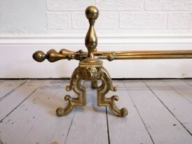 Antique Brass Fireplace Companion Set