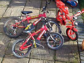 3 x kids bikes for repair