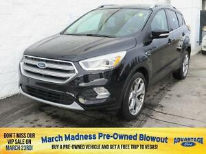 2017 Ford Escape Titanium Nav. Moonroof. EcoBoost. Trailer Tow.