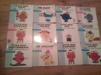 mr men books 45 total , all in very good condition
