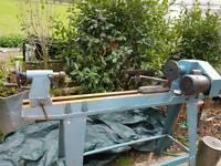 Clark wood lathe