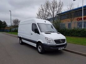 MERCEDES SPRINTER MWB HIGH ROOF 2007/57 REG