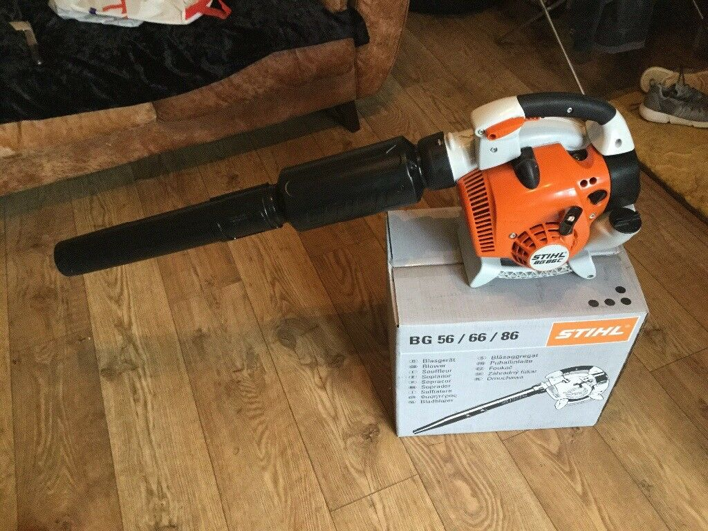 Stihl bg66c petrol blower as new used once