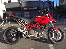 DUCATI HYPERMOTARD 1100 2010 RED MINT CONDITION