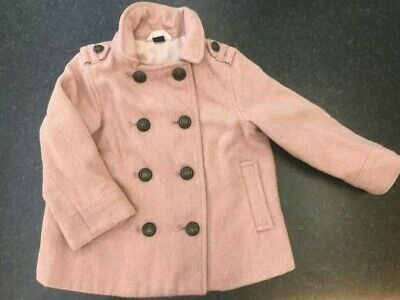 GAP GIRLS COAT 2-3 YEARS JACKET ROSE PINK VERY GOOD CONDITION SPRING SUMMER