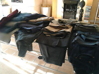 18 pairs of mens trousers.