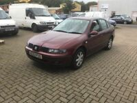 SEAT Toledo 1.8 20v SE 4dr FSH!!!....April MOT....Priced to sell...got to go