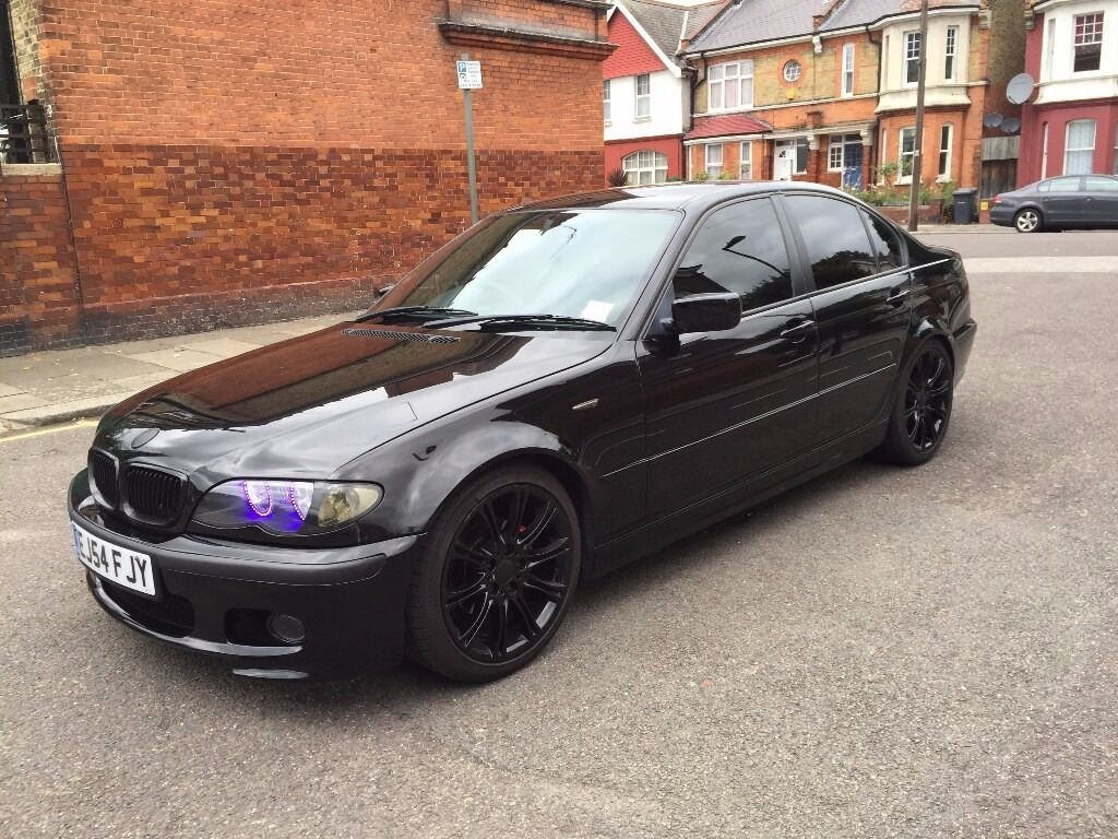 bmw 318 diesel 3 series black 2005 engine size 1995 for sale good condition in wood green. Black Bedroom Furniture Sets. Home Design Ideas