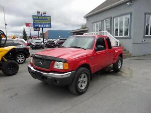 2002 Ford Ranger XLT Off-Road comme neuf