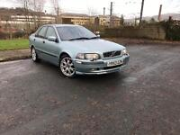VOLVO S40 1.8 SPORT 2004 FULL SERVICE HISTORY 10 MONTHS MOT 1 OWNER FROM NEW DRIVES LIKE NEW.