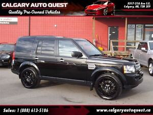 2011 Land Rover LR4 HSE LUXURY 4WD/NAVI/CAM/DVD/7-PASS/LEATHER/R