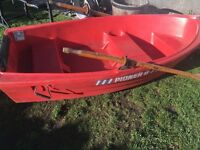 Pioner 8 foot rowing boat