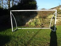6-a-side Samba football goal 12ft x 6ft. £50 ONO