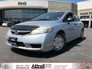 2009 Honda Civic Sdn DX-G. Manual, Keyless Entry, AUX input