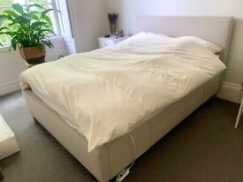 Double Bed Frame with 2 Large Drawers