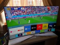 NEW BOXED SAMSUNG 55-inch CURVED TV SUPER Smart QUANTUM DOT 4K LED TV-55MU9000,Wifi,WITH ONE CONNECT