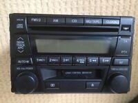 Mazda MX5 Mk 3 Radio/Cassette/CD Player