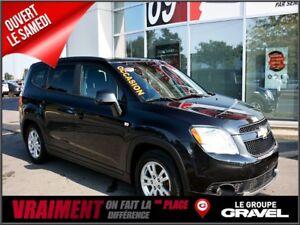 2012 Chevrolet Orlando 1LT 8 PNEUS 7 PASS BAS KM'S