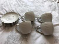 Beautiful owl cup and saucer set from next