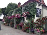 Mature manager to assist in running a village pub