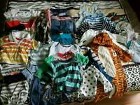 Bundle clothes 6-9-12 months boy