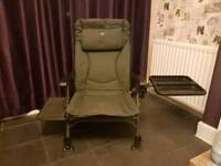 TFG Fishing Recliner Chair + Accessories
