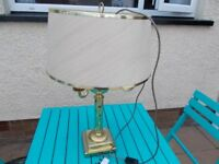Lovely brass lamp