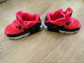 Infant girls Nike air Max - size 7.5