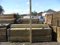 Timber fence post 100mmx100mmx3m