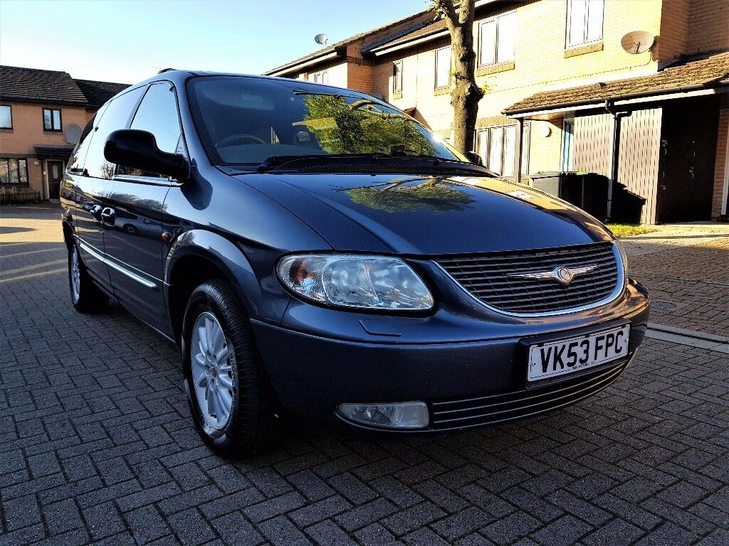 CHRYSLER GRAND VOYAGER 2.5 CRD DIESEL XS LIMITED EDITION MANUAL, FULL  SERVICE HISTORY, 12