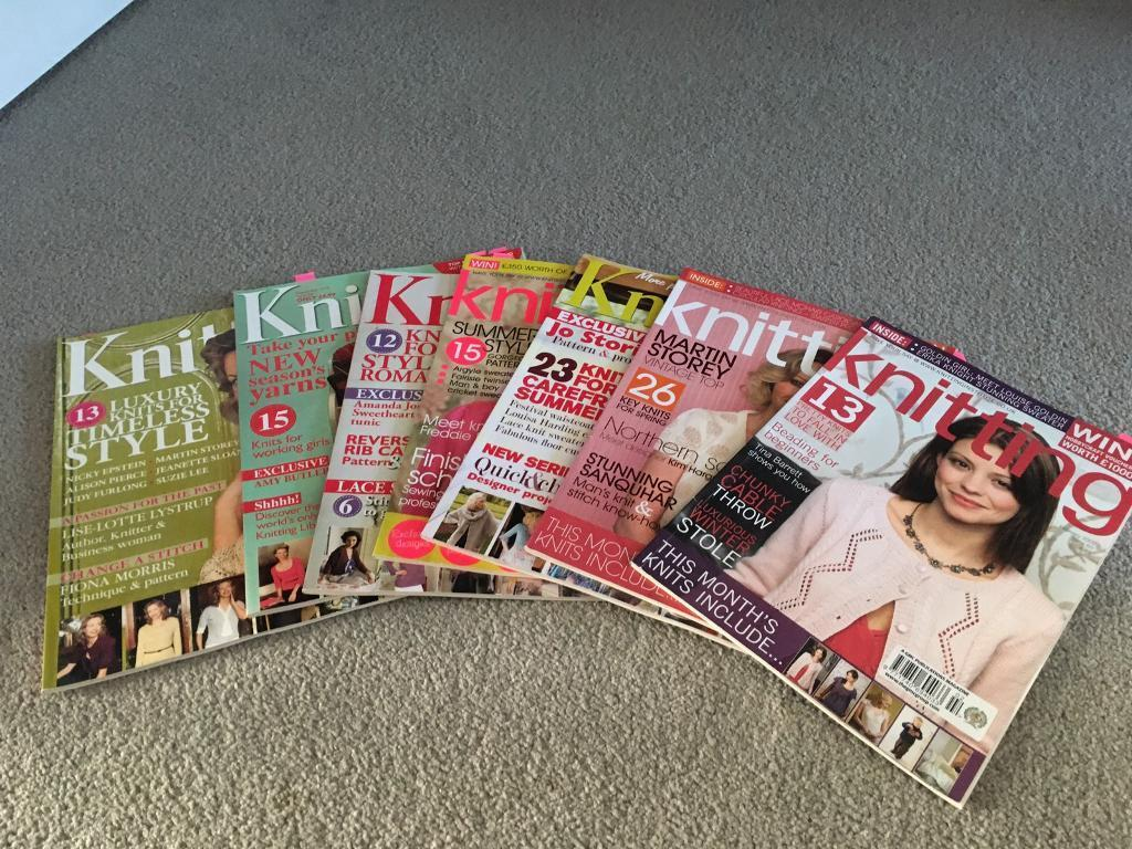 Knitting Magazines In South Queensferry Edinburgh Gumtree