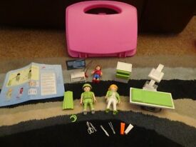 Playmobil Case As New Complete with Instructions City Life X-Ray Room set 6659 Only £8 ideal gift