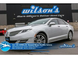 2014 Lincoln MKZ AWD | LEATHER | NAV | HEATED / AC SEATS | REAR