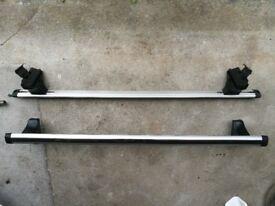 Genuine Seat Ibiza aluminium roof bars