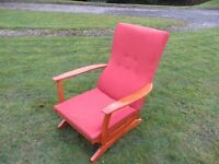 An Old Spring Rocking Chair