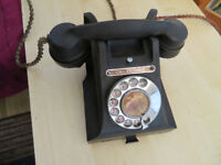 Bakelite GPO Telephone 300 series