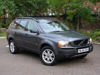 EXCELLENT DIESEL 7 SEATER 4X4! 55 REG VOLVO XC90 2.4 D5 SE AUTO GEARTRONIC AWD 5dr, FSH LEATHER