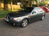 BMW 525D-DIESEL AUTOMATIC-VERY CLEAN-2005-M SPORTS STEERING-FULL SERVICE-RUNS PERFECT-HPI CLEAR