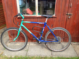 MBK Mountain Bike with 21 Shimano Gears, Shimano Brakes, D-Lock and Hand Pump
