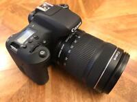 Canon 760D + 18-135mm EF-S Lens