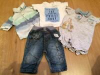 Baby Boys Clothes (up to 1 month)