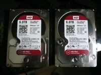 BRAND NEW CHEAP WD RED 6TB HARD DRIVE