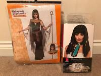 Cleopatra costume and wig, Small