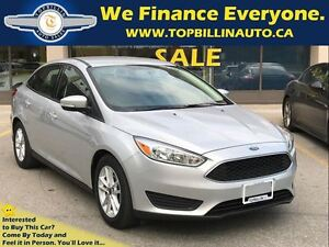 2015 Ford Focus SE Automatic, BLUETOOTH, Only 38K kms