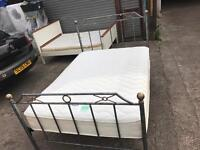 Hand made metal Bed