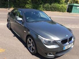 BMW 5 Series LOW MILEAGE WITH SERVICE HISTORY AND LONG MOT HPI CLEAR!